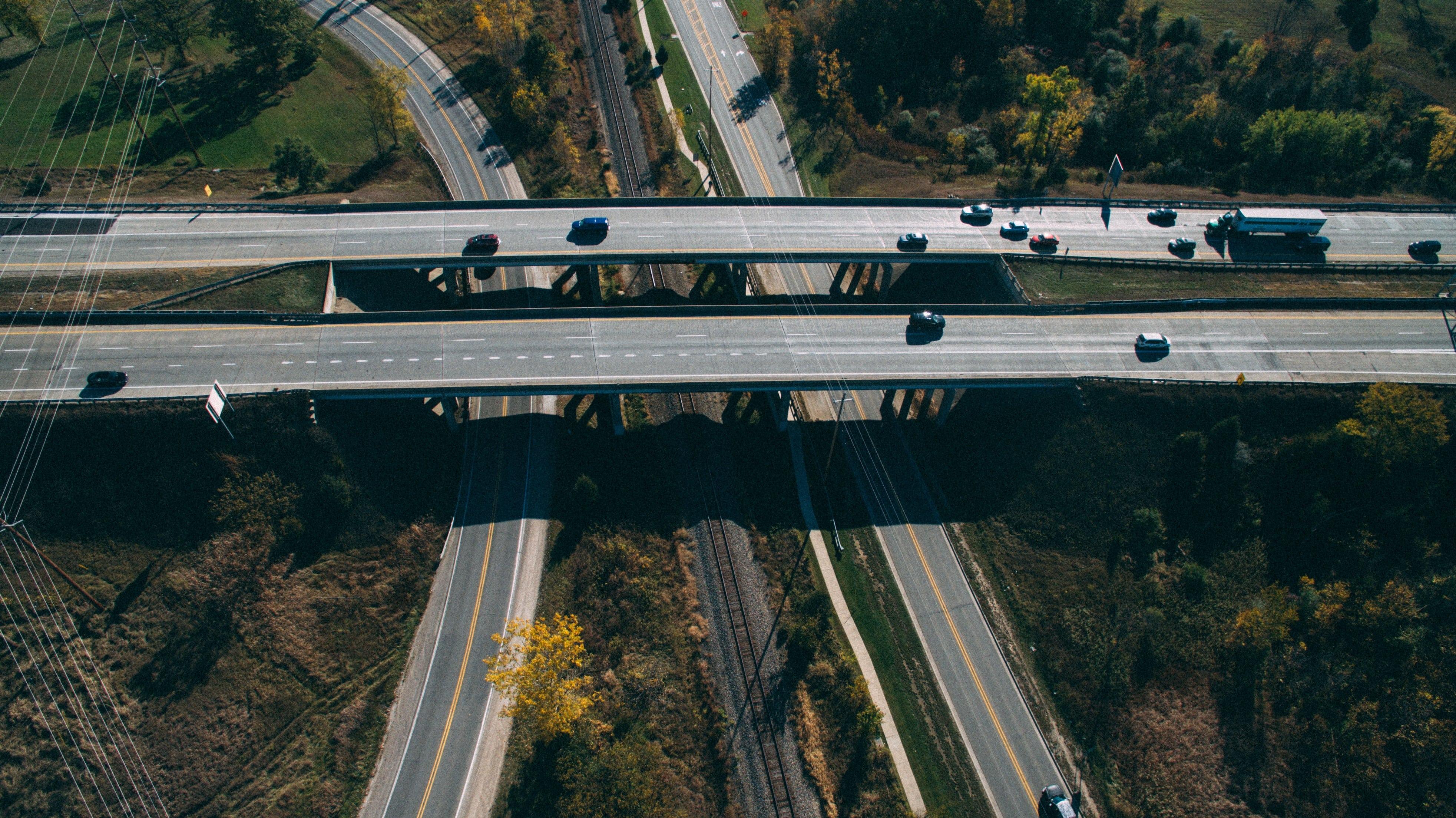 vue globable sur matériel et véhicules